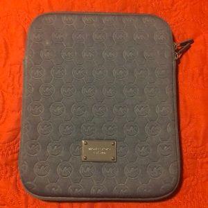 Michael Kors Navy Blue Tablet Case